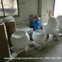 Bàn ghế bằng composite giá rẻ