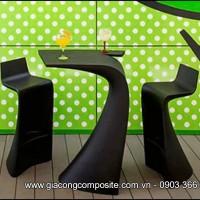 Gia công bàn ghế composite theo yêu cầu giá rẻ