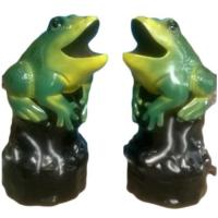 Thùng rác ngoài trời hình con ếch nhí nhảnh