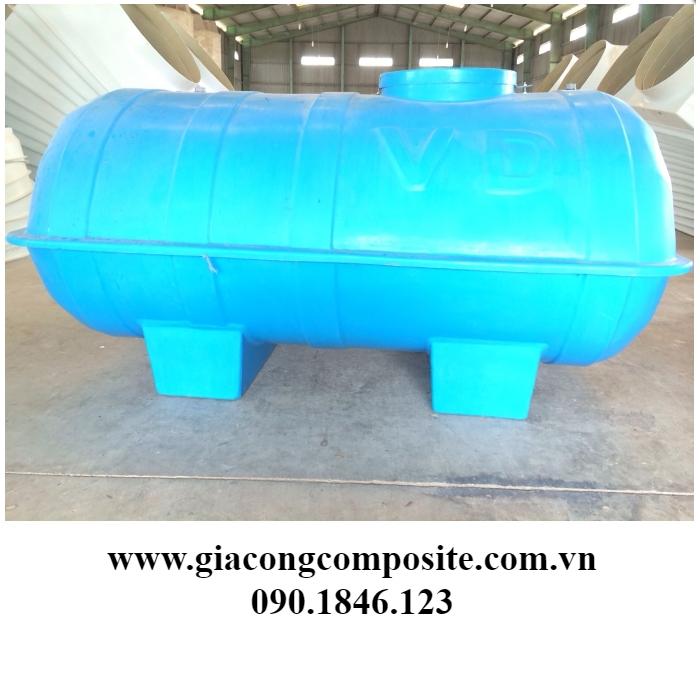 Xưởng gia công bồn composite tại HCM