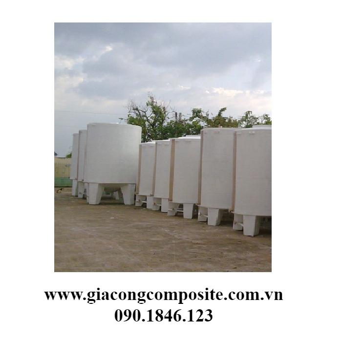 Xưởng sản xuất trực tiếp bồn composite tại HCM