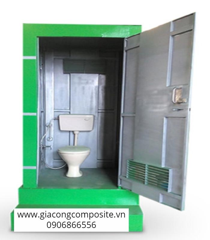 nhà vệ sinh công trường xây dựng