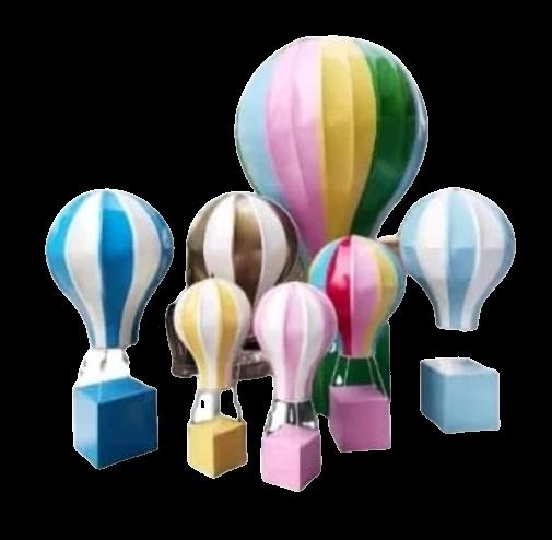 Mô hình khinh khí cầu composite